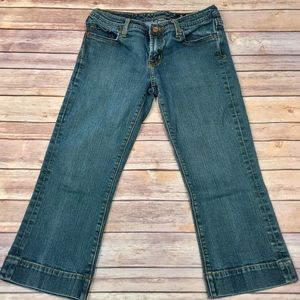 Seven7 brand cropped jeans.
